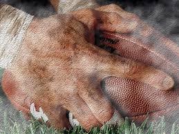 football hands