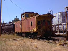 southern pacific caboose