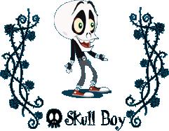 ruby gloom skull boy