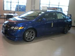 honda civic si blue
