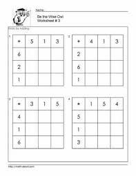 math worksheet addition