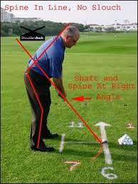 golfing stance
