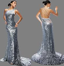 bcbg silver sequin dress