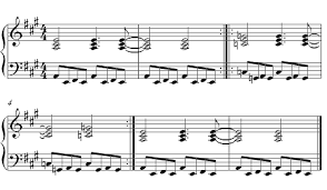 linus and lucy piano sheet music