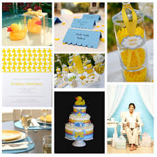 duck baby shower supplies