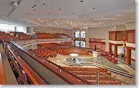 contemporary church interiors