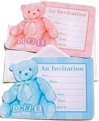 1st birthday boy invitation