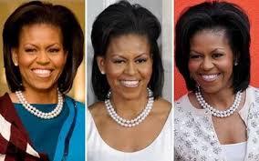 michelle obama pearl necklace