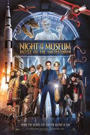 night at the museum battle of the smithsonian movie poster