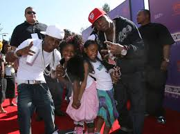 lil wayne and his family