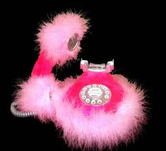 hot pink phone