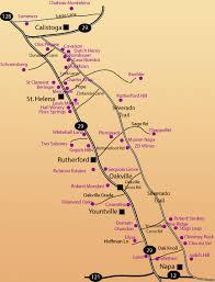 napa valley wine maps