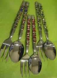 different kitchen utensils