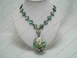 abalone shell jewellery