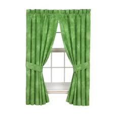 purple and green curtains
