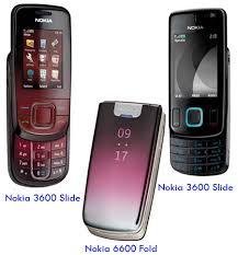 nokia 6600 slide colours