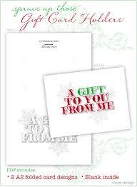 printable giftcard