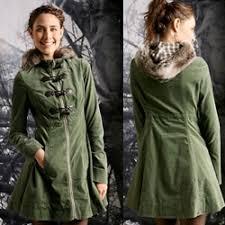 hooded fur coats