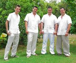 beach wedding groom clothes