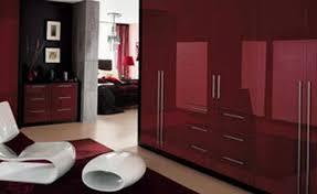 burgundy bedrooms