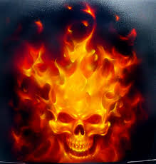 real fire airbrushing