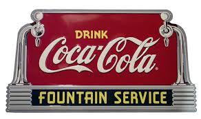 coca cola fountain soda