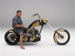 harley custom chopper