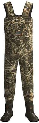 camouflage waders