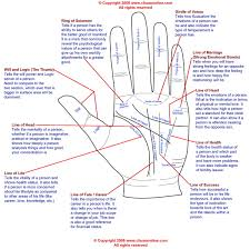palm reading instructions