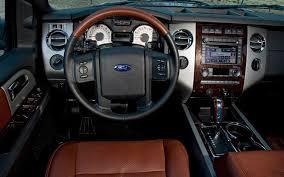 ford king ranch interior