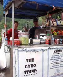 gyro stand
