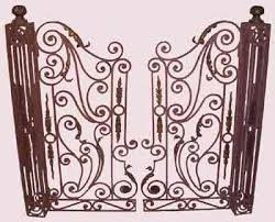 french wrought iron