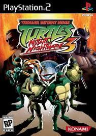 teenage mutant ninja turtles playstation 2