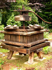 old cider press