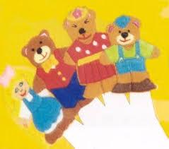 goldilocks puppets