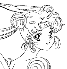 sailor moon coloring book