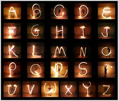 picture of the alphabet