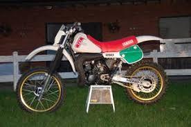 1982 yamaha yz250