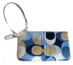 blue coach handbags
