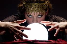 fortune tellers crystal ball