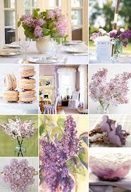lilac wedding bouquets