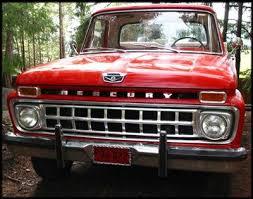 mercury pickup