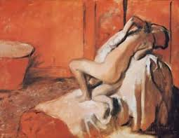 after the bath degas