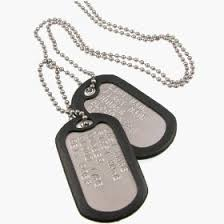 army identification tags
