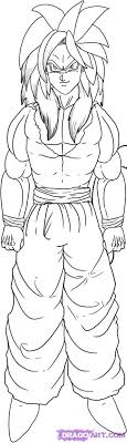 dragonball gt coloring pages