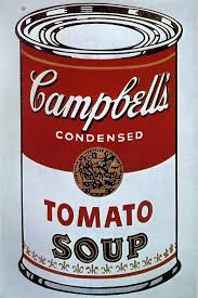 andy warhol soup can painting