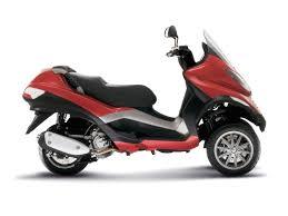 three wheeler scooters