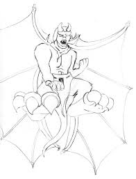 drawings of gargoyles
