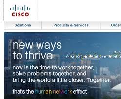 cisco human network effect