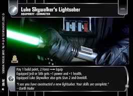 luke skywalkers lightsaber